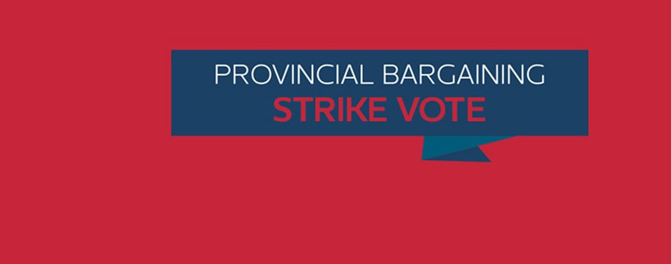 Provincial Strike Vote Results
